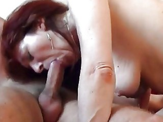 milf gets her mature snatch pounded