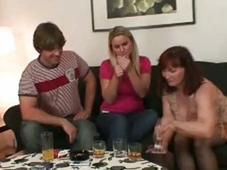 lustful dark brown momma opens cum hungry mouth